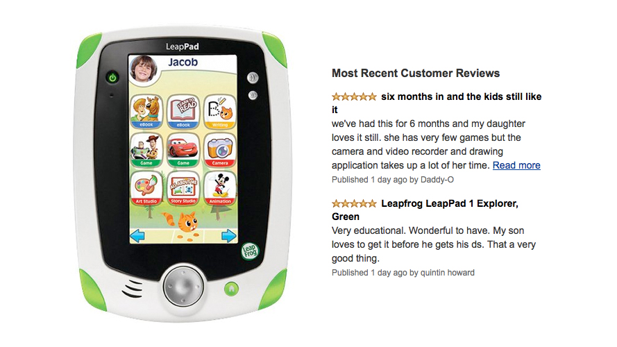 LeapFrog LeapPad Explorer Learning Tablet Review