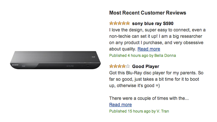 Sony BDP-5590 3D Blu-ray Disc Player Review