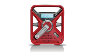 The American Red Cross FRX3 Hand Turbine NOAA AMFM Weather Alert Radio with Smartphone Charger