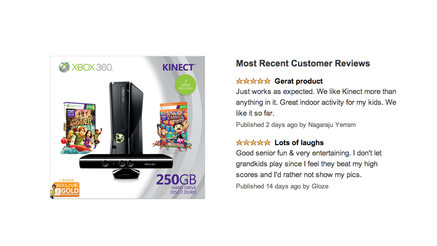 Xbox 360 250GB Holiday Value Bundle with Kinect Review