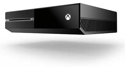 Xbox One Console Review Side View